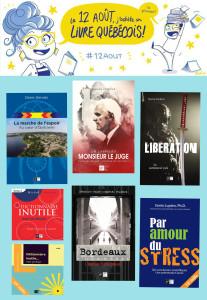 12 août livre québécois