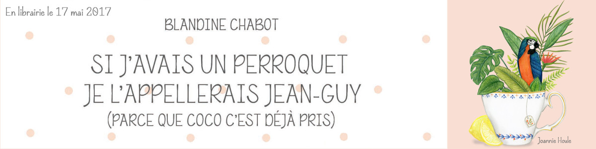 Une réimpression pour le roman de Blandine Chabot