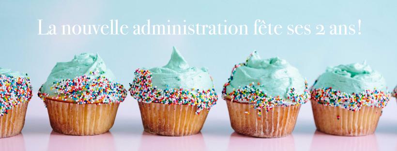 La nouvelle administration fête ses 2 ans!