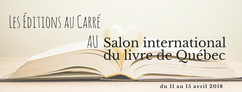 Salon international du livre de Québec 2018