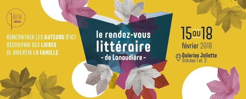 Première édition du Rendez-vous littéraire de Lanaudière